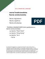 TEORÍAS SOBRE EL ORIGEN DEL LENGUAJE nuevo.docx
