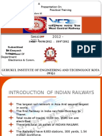 Railway Ppt Lokesh