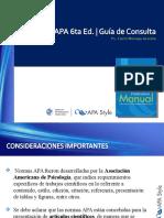 Moraga, c. (2014). Guia Apa. 6ta Ed.