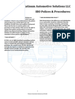 pass policies and procedures one