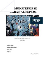 4-Los Monstruos Se Miran Al Espejo-dossier de Ejercicios