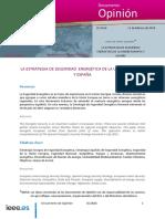 Estrategia de seguridad energetica+UE