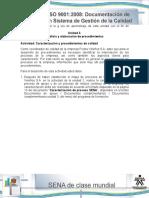8 Actividad de Aprendizaje Unidad 3 Caracterizacion y Procedimientos de Calidad 2