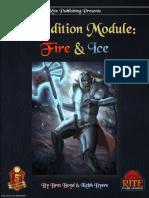 5th Edition Module Fire & Ice (5E)