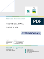 07 Suzlon 2.1 MW S97 Technical Data