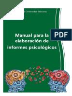 Manual de Informes Psicológicos