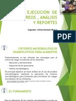 Ejecución de Muestreos , Análisis y Reportes_ Presentacion