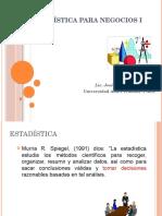 Clase  Estadística1