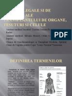 Aspecte Legale Si de Bioetica Ale Transplantului De