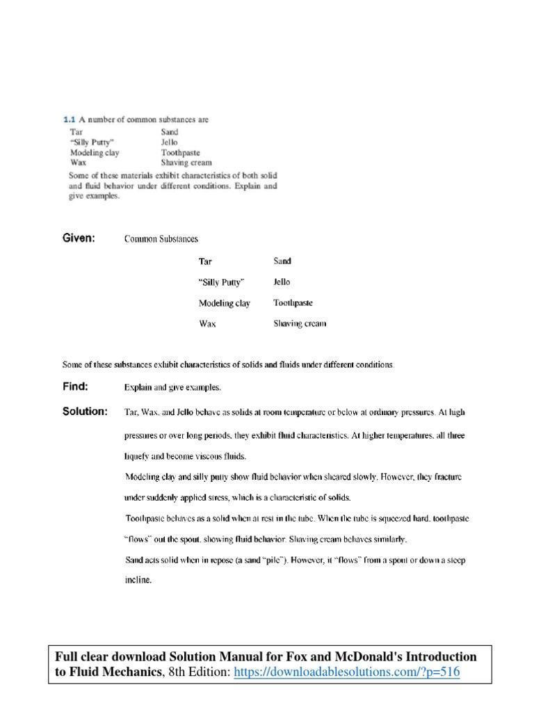 Manual solution fluid 4th edition frank m white rh slideshare net array solution manual fox and mcdonald s introduction to fluid mechanics rh scribd com fandeluxe Choice Image