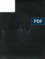 Skyrim Collectors Edition Artbook