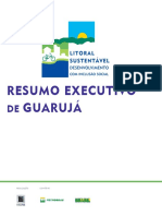 Resumo Executivo de Guaruja Litoral Sustentavel