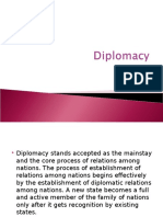 Diplomacy .1