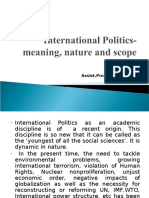 International-Politics-meaning-nature-and-scope.ppt