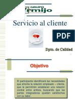 Atención Al Cliente- Julio 2015