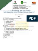 Documento Rector Oficial de Rutinas Musicalizadas Chiapas 2012