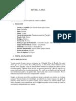 57179631 Historia Clinica Bronquiectasias