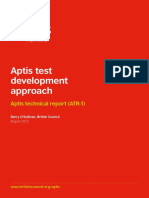 Aptis Test Development Approach