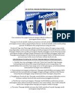 Cara Bina Fanpage Untuk Promosi Perniagaan Di Facebook