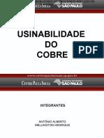 Apresentação Usinabilidade do Cobre.pptx