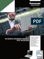 Panasonic Toughbook CF-T8 - Fisa Tehnica