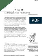 Anim Principles