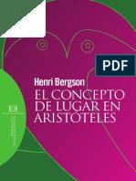 El Concepto de Lugar en Aristoteles Henri Bergson