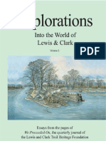 Explorations into the World of Lewis and Clark Volume II Sample
