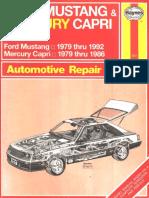 Ford Mustang (79-92) & Mercury Capri (79-86)