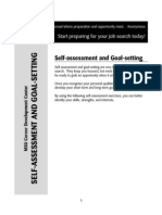 Self Assessment & Goal Setting