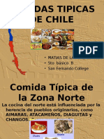 Comidas Tipicas DE CHILE