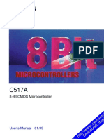Microcontrolador C517A Infineon User manual
