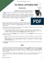 Intercambio Iónico_ Información General y Principios
