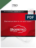 Manuel Administrateur Vade Retro Cloud 1.4.0 FR-med