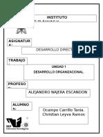 Unidad 1 Desarrollo Directivo
