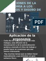 4.1 Aplicaciones de La Ergonomía a Los Procesos y Diseño de Instalaciones