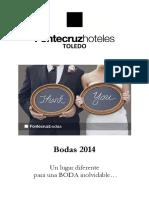 Dossier Bodas 2014 Fontecruz Toledo