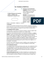 Investigação_ Teoria e Prática