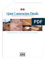 APA - I-Joist Construction Details Can LSD