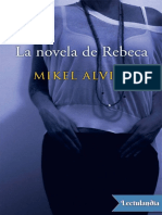 La Novela de Rebeca - Mikel Alvira