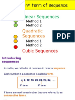Finding the Nth Term of Sequence