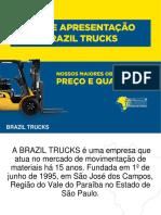 Apresentação Brazil Trucks-operação Empilhadeira