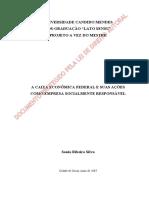 A Caixa Econômica Federal e Suas Ações Como Empresa Socialmente Responsável