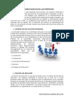 Funciones Basicas de Las Empresas