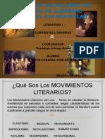 Diapositiva de Corrientes Literarrias Cobach 35
