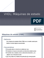 VHDL Maquinas de Estado 2014-2C