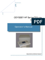 DC30-010 - ODYSSEY Operator Manual_Rev P