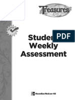 Student Weekly Assessments
