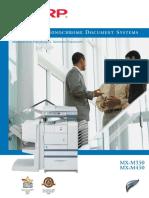 MX M350 450 Brochure