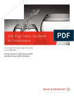 BAIN Brief_With High Stakes - Accelerate the Transformation